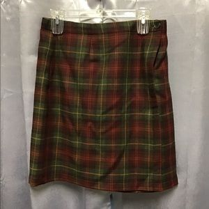 L.L.Bean wrap skirt